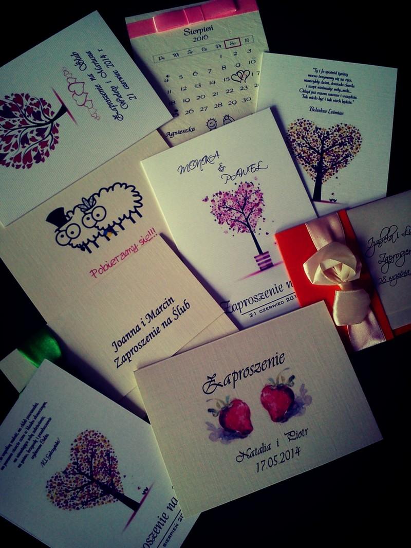 Mój sposób na tanie zaproszenia ślubne