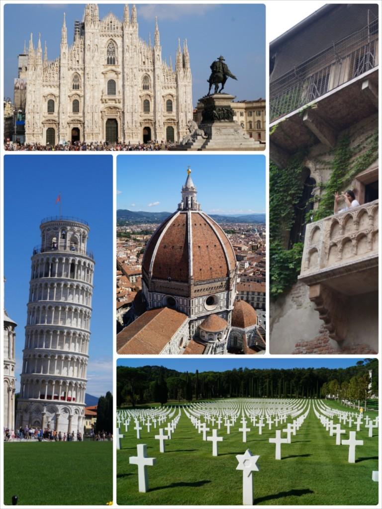 Kilka atrakcji, które udało nam się zobaczyć we Włoszech