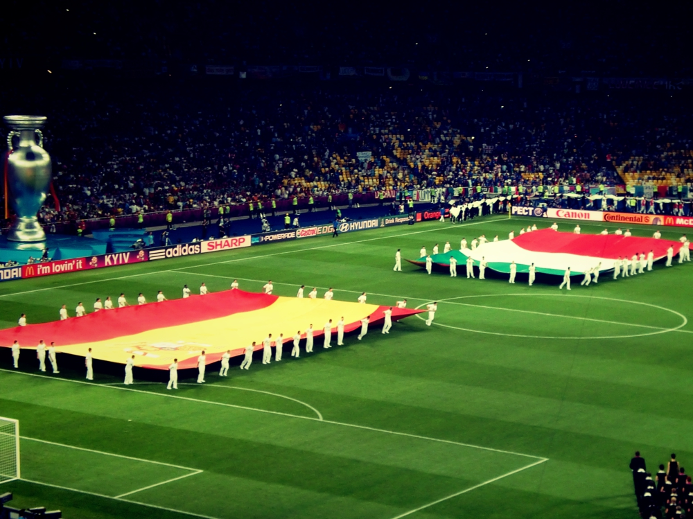 Finał Euro 2012 w Kijowie. Trudno uwierzyć, że to już 2,5 roku temu!