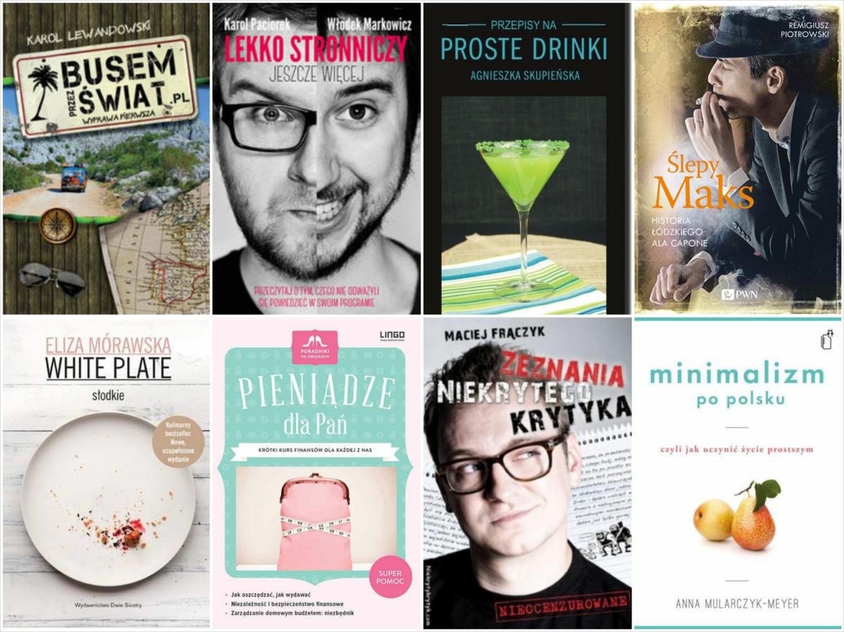 87 książek polskich blogerów i vlogerów
