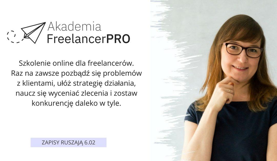6 lutego startuje mój kurs dla freelancerów. Wygraj darmowy dostęp!