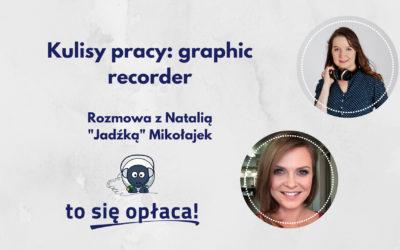 Jak wygląda praca graphic recordera? Rozmowa z Natalią Mikołajek