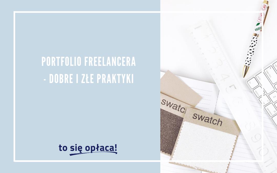 Portfolio freelancera – dobre i złe praktyki [TSO odc. 38]