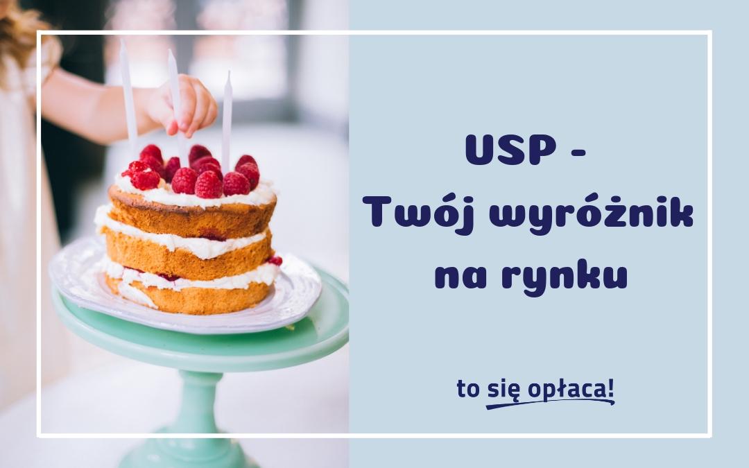 USP, czyli co wyróżnia Twój biznes?