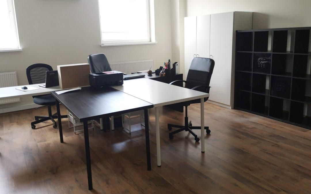 Biuro dla małej firmy, czyli do 3 razy sztuka