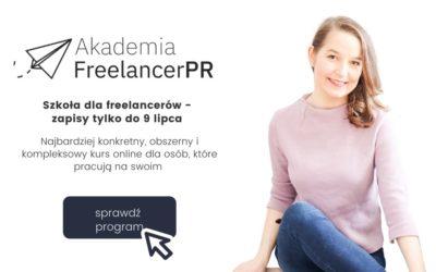 Wystartowała III edycja mojej szkoły dla freelancerów – Akademia Freelancer Pro. Zajrzyj do środka