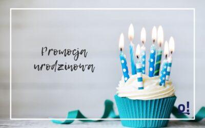 Promocja urodzinowa w sklepie tosieoplaca.pl. Co dla sklepów, a co dla freelancerów?